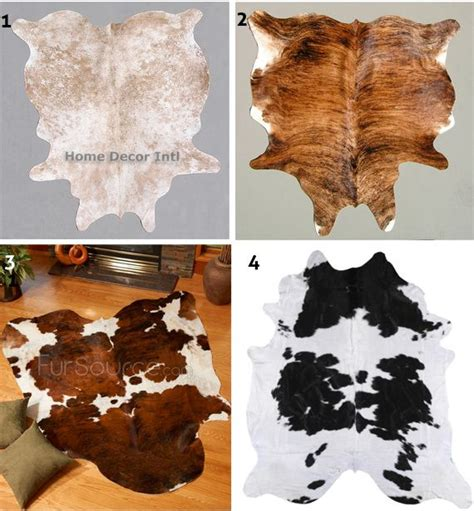 Cowhide Rug Decor by 1000 Ideas About Cowhide Rug Decor On White