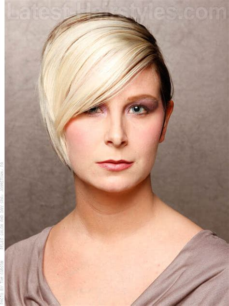 short chunky hairstyles short hair cuts with chunky highlights hairstyle gallery