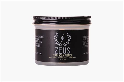 zeus firm hold pomade dude shopping
