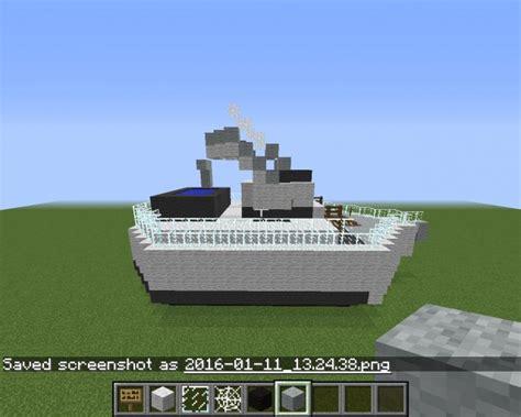 big boat in minecraft the big boat minecraft project