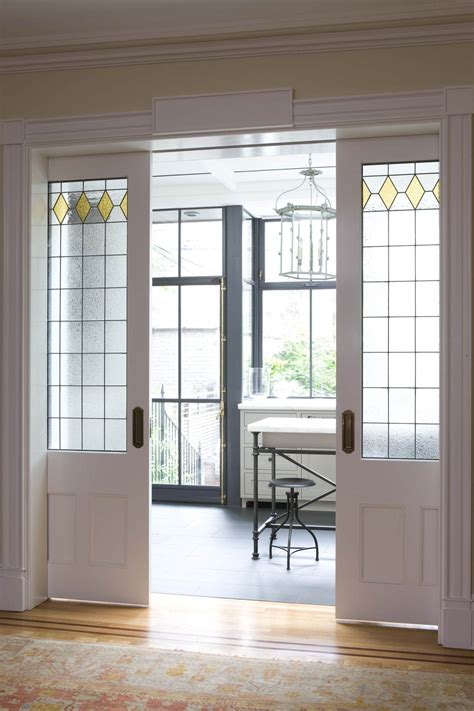 image result for kitchens with entry pocket doors brooklyn rowhouse robinson grisaru architecture pc