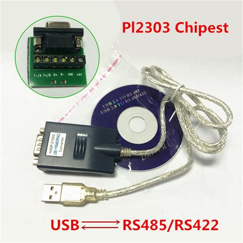 Best Seller Usb2 0 To Serial Rs422 Rs485 Adapter Converter Kabel Ftdi usb 2 0 to rs422 rs485 converter adapter serial cable with cd driver in data cables from