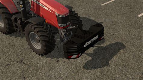 When Were Ls Invented by Janssen Gewicht V 1 0 Fs 2017 Farming Simulator 2017 Mod