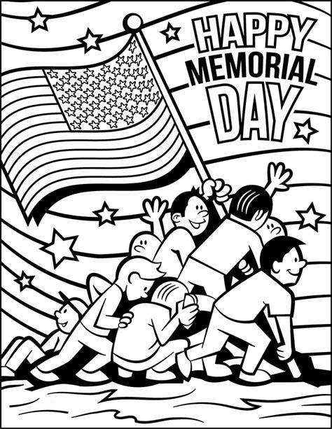 memorial day coloring pages memorial day coloring pages free for