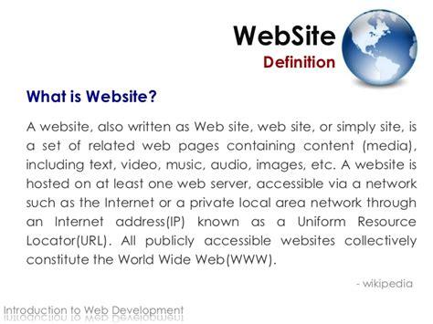 definition design websites web design intro