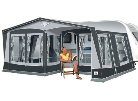 seasonal caravan awnings dorema royal 350 seasonal pitch caravan awning size 14