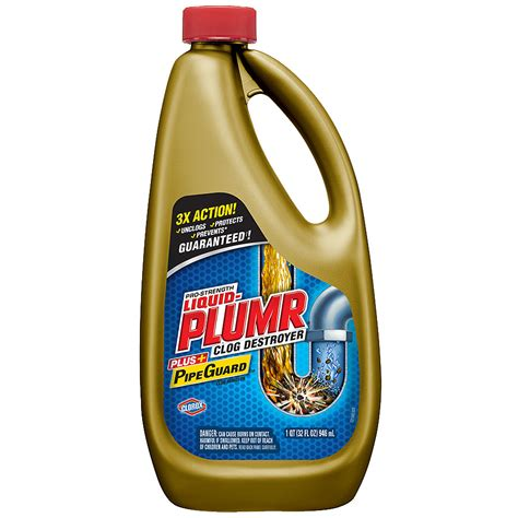 Liquid Plumr Clog Remover Power Gel   Walgreens