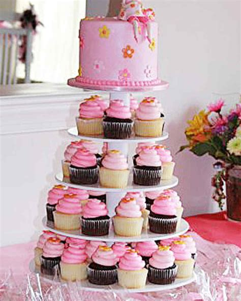 Cupcake Decorating Baby Shower by Your Best Baby Shower Cupcakes Martha Stewart