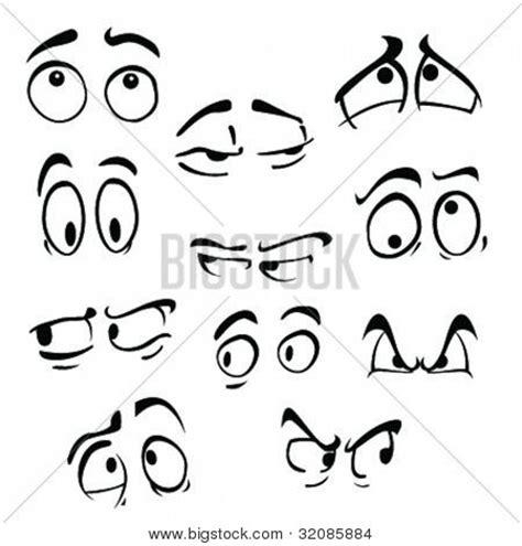 imagenes ojos sorprendidos vector y foto ojos de dibujos animados sobre bigstock