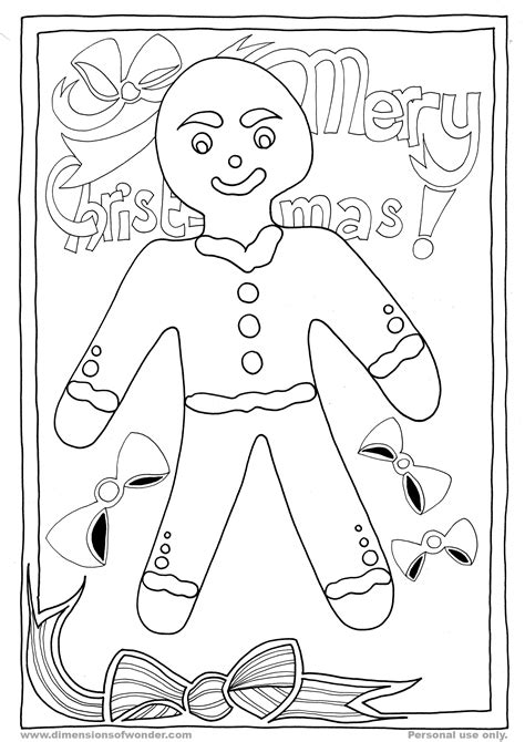 christmas coloring pages gingerbread man free gingerbread man fox coloring pages