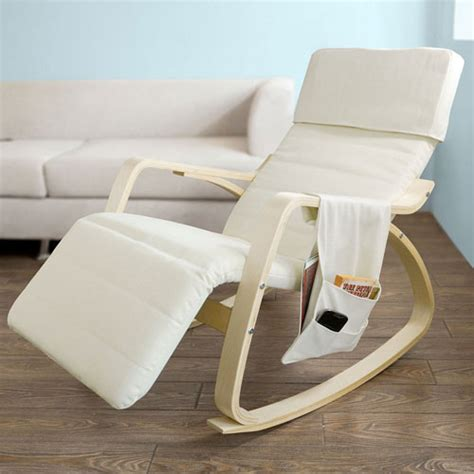 Affordable Recliner Chairs by Relax Recliner Chair Bcp Wood Recliner Rocking Chair W Adjustable Foot Rest Comfy