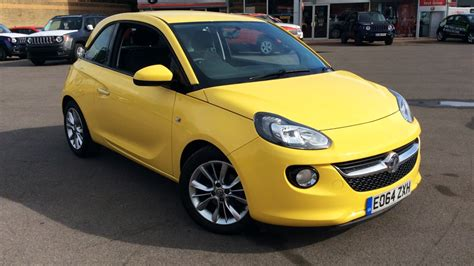 vauxhall yellow used vauxhall adam cars for sale motorparks