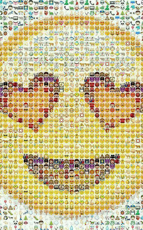 emoji wallpaper for iphone 6 fond d 233 cran grand smiley photoshop pinterest emoji