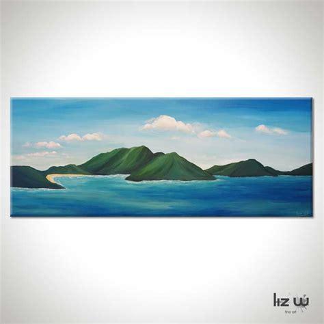 paint island islands seascape painting liz w gallery