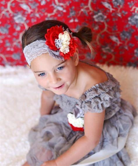 ivory grey lace dress sash headband set toddler baby dress flower dress 1st