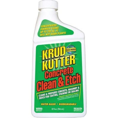 krud kutter 32 oz concrete clean and etch cleaner