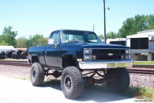 1984 chevy bed 1 ton 4x4 lifted lift gmc