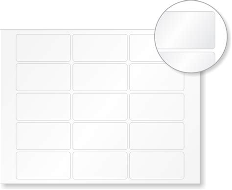 printable label sheets laser printer safety labels blank label stationery