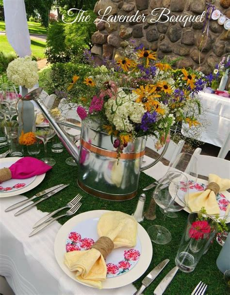 garden themed table decorations garden themed tablescape hometalk
