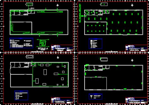 project  installations  shop dwg full project