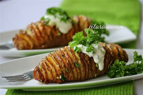 Diy Pinterest Home Decor kentang spiral bakar spiral baked potatoes recipes