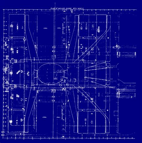 Blue Print Of House by The Design Of Titanic Ultimate Titanic