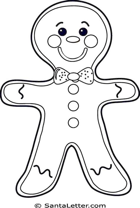 coloring page gingerbread boy christmas gingerbread man coloring pages god s