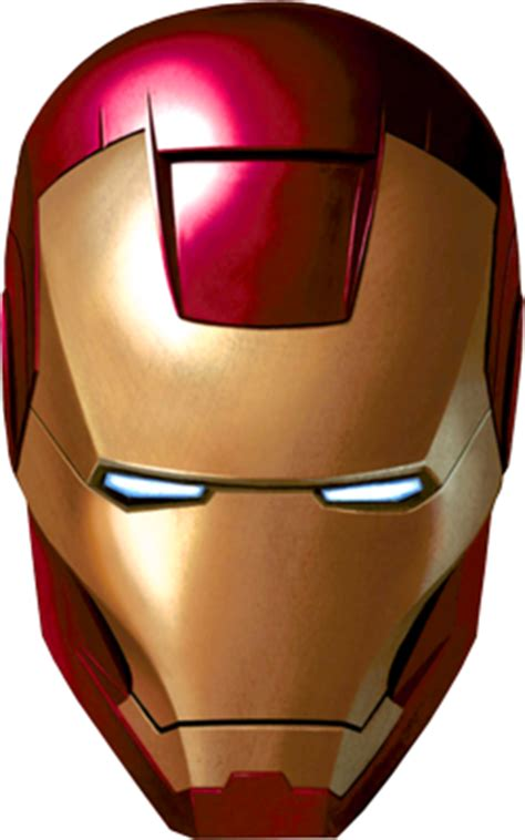 ironman mask template 250px