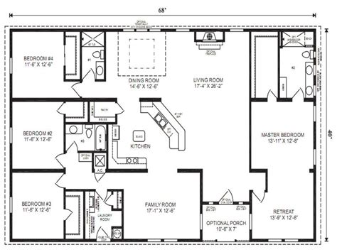 triple wide mobile home floor plans mobile modular home floor plans clayton triple wide mobile