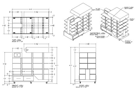 Kitchen Cabinets Store by Freelance Exhibit Design Millwork Shop Drawings Exhibit