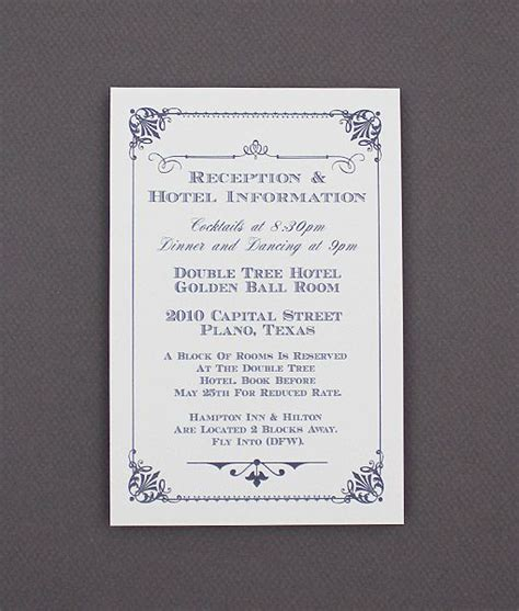 free enclosure card template diy ornate vintage wedding enclosure card from