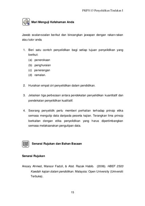 contoh laporan justifikasi nota penyelidikan kajian