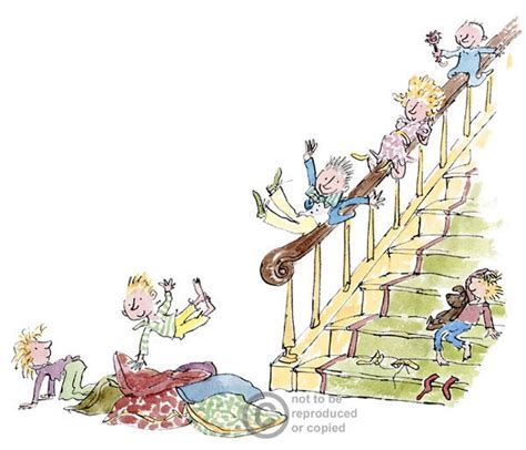 sliding down the banister quentin blake sliding down the banister quentin blake
