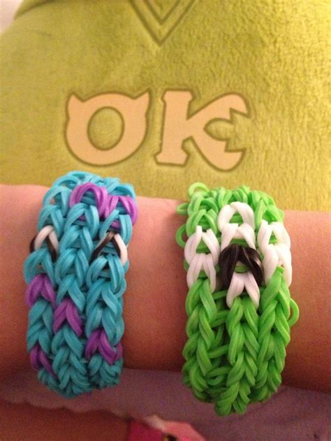 mike  sully rainbow loom bracelets friendship bracelets pinterest activities
