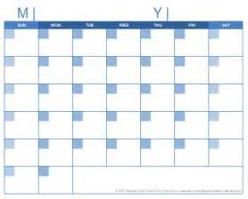 Free Printable Blank Calendar Template by Blank Calendar Template Free Printable Blank Calendars