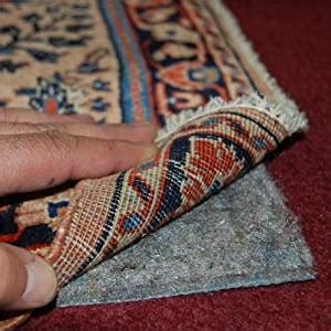 no slip rug 4 x6 no muv non slip rug on carpet pad includes rug and pad care guide kitchen