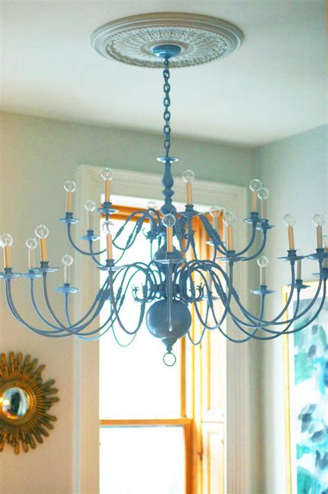 How To Paint A Chandelier 22 Diy Chandeliers For Rooms And More