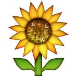 Keyboard Flower Symbol - sunflower emoji u 1f33b u e305