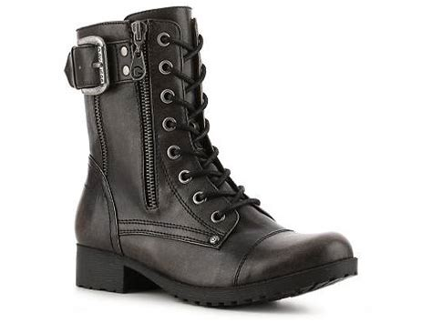 g by guess borra combat boot dsw