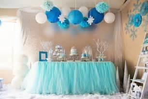 Frozen wonderland birthday party via kara s party ideas