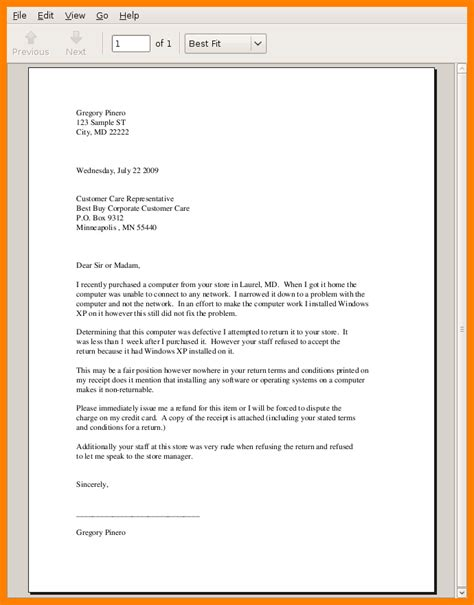 Official Letter Images 10 Exles Of Official Letters Buyer Resume