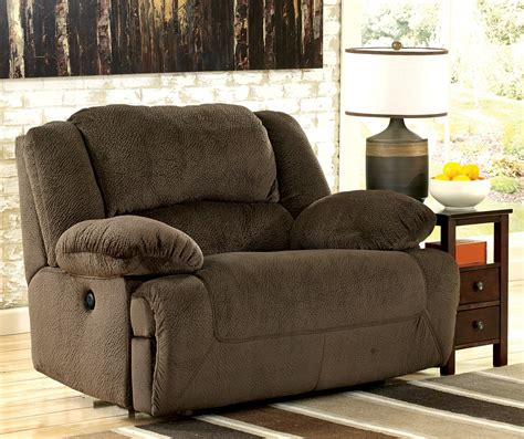 Furniture The Seat by Toletta Chocolate Zero Wall Wide Seat Recliner From