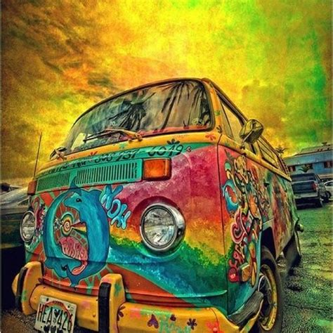 hippie van drawing hippie van art pinterest