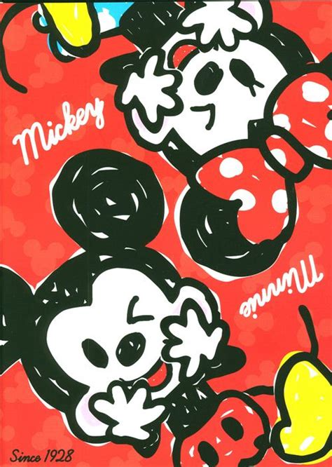 Hp Mini Mickey cuaderno de ejercicios mickey minnie mouse blocs de notas papeler 237 a tienda kawaii modess4u