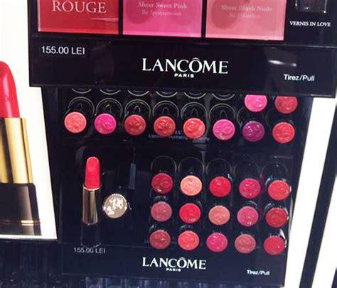 Lipstik Lancome L Absolu lancome l absolu lipstick swatches photos