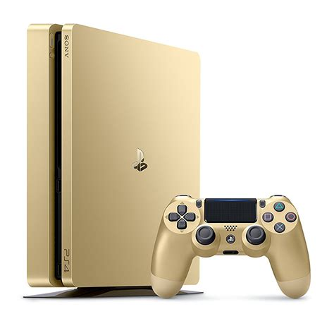 new playstation console new sony playstation 4 slim 1tb limited edition gold console