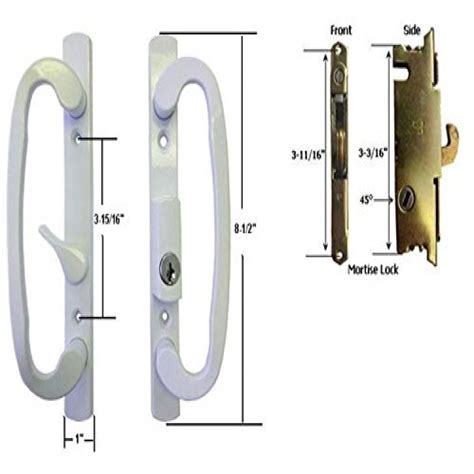 Sliding Glass Door Outside Lock Sliding Glass Door Lock Exterior Prestigenoir
