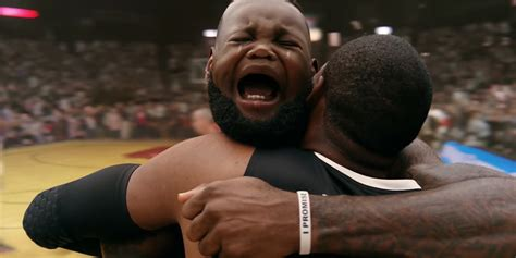 Lebron Crying Meme - lebron james face changes to that of a crying baby and