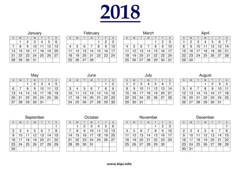 printable calendar 2018 calendar twitter headers facebook covers wallpapers calendars
