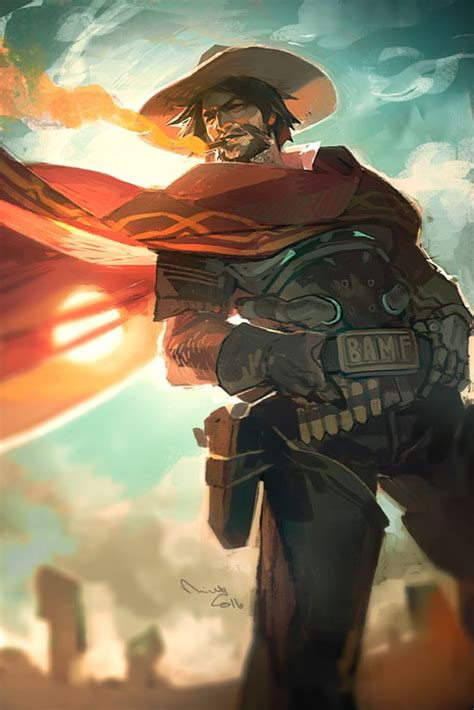 22 best images about overwatch jesse mccree on pinterest